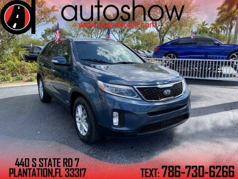2015 Kia Sorento for sale at AUTOSHOW SALES & SERVICE in Plantation FL