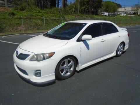 2012 Toyota Corolla for sale at Atlanta Auto Max in Norcross GA