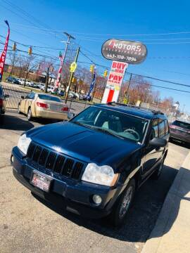 2006 Jeep Grand Cherokee for sale at i3Motors in Baltimore MD