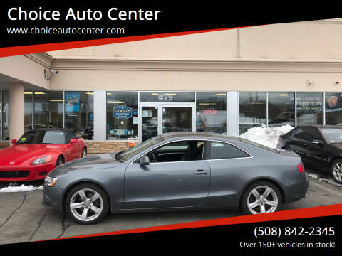 2014 Audi A5 for sale at Choice Auto Center in Shrewsbury MA