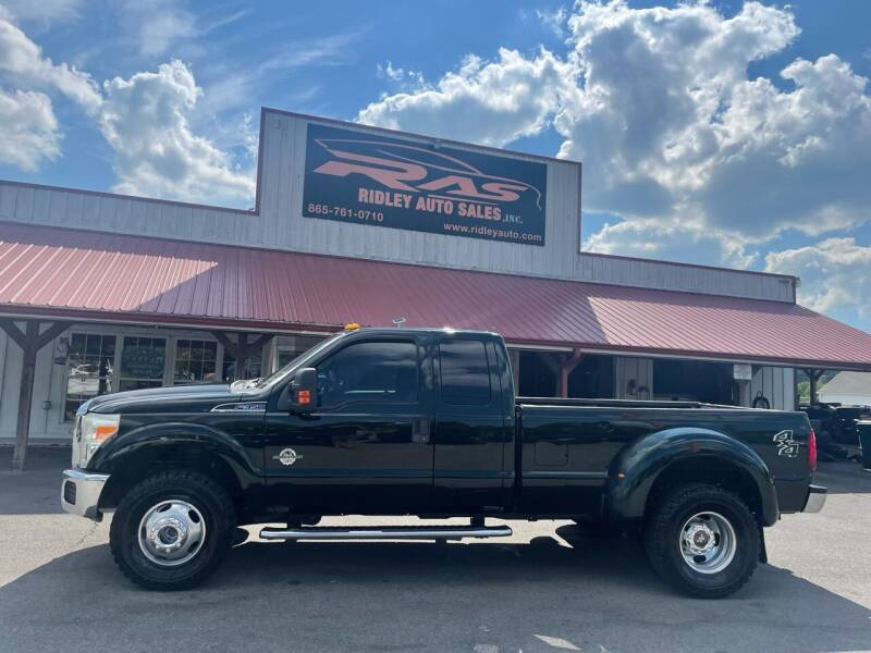2012 Ford F-350 Super Duty for sale at Ridley Auto Sales, Inc. in White Pine TN