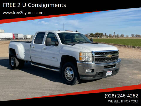 2011 Chevrolet Silverado 3500HD for sale at FREE 2 U Consignments in Yuma AZ