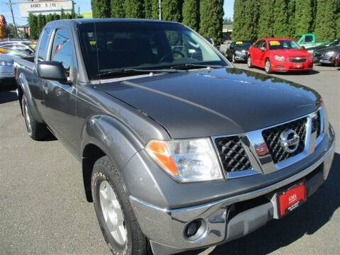 2007 Nissan Frontier for sale at GMA Of Everett in Everett WA