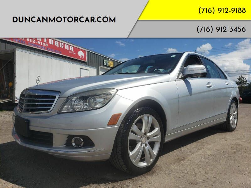 2008 Mercedes-Benz C-Class for sale at DuncanMotorcar.com in Buffalo NY