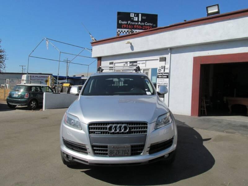 2007 Audi Q7 for sale at Dealer Finance Auto Center LLC in Sacramento CA