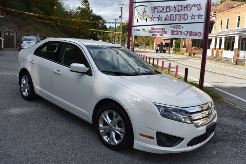 2012 Ford Fusion for sale at Frenchy's Auto LLC. in Pittsburgh PA
