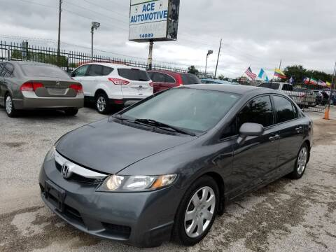 2009 Honda Civic for sale at Ace Automotive in Houston TX