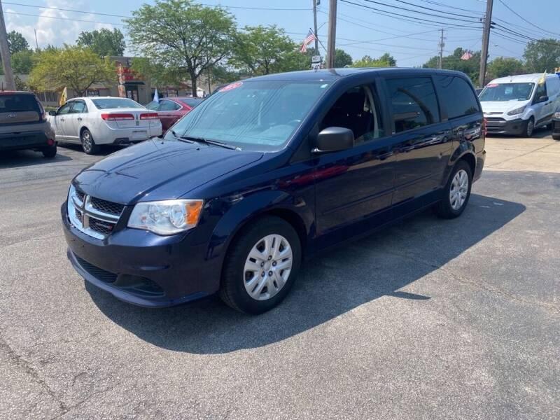 2014 Dodge Grand Caravan for sale at TKP Auto Sales in Eastlake OH