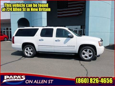 2011 Chevrolet Suburban for sale at Papas Chrysler Dodge Jeep Ram in New Britain CT