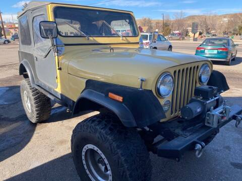 1980 Jeep Wrangler for sale at Fast Vintage in Wheat Ridge CO