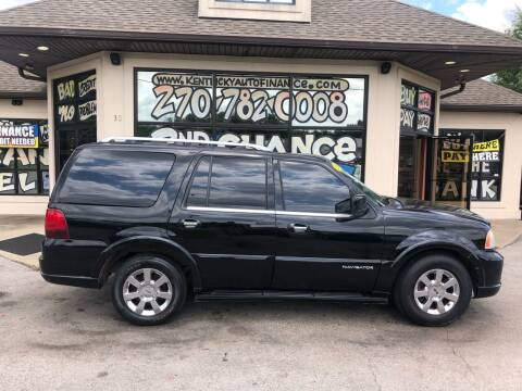 2006 Lincoln Navigator for sale at Kentucky Auto Sales & Finance in Bowling Green KY