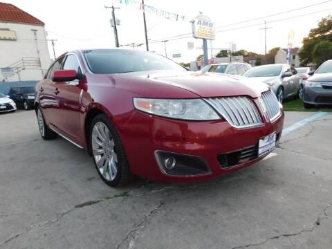 2011 Lincoln MKS for sale at AMD AUTO in San Antonio TX