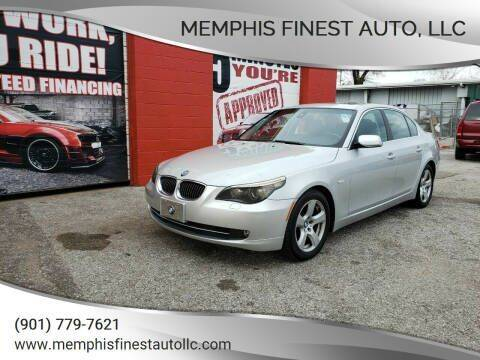 2008 BMW 5 Series for sale at Memphis Finest Auto, LLC in Memphis TN