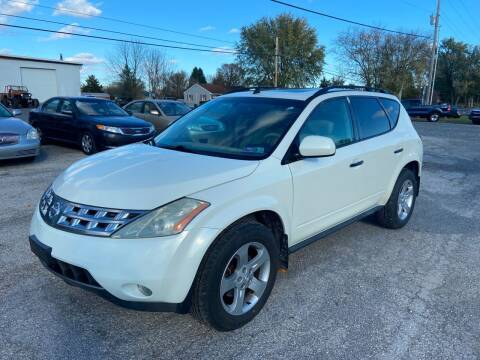 2003 Nissan Murano for sale at US5 Auto Sales in Shippensburg PA