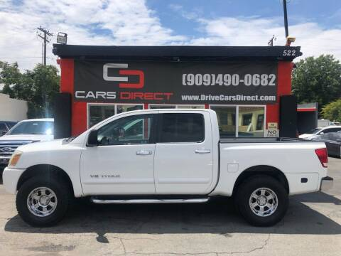 2006 Nissan Titan for sale at Cars Direct in Ontario CA