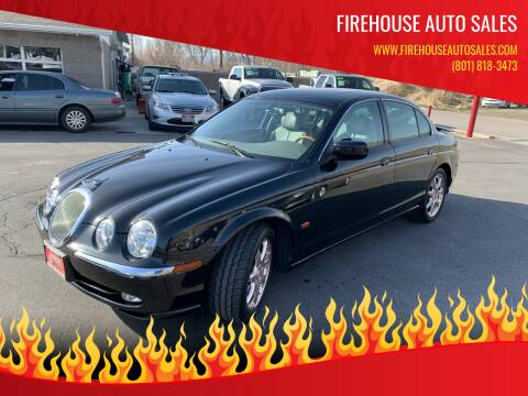 2001 Jaguar S-Type for sale at Firehouse Auto Sales in Springville UT