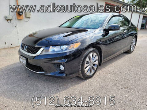 2015 Honda Accord for sale at ADK AUTO SALES LLC in Austin TX