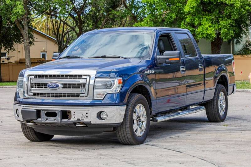 2014 Ford F-150 for sale at Easy Deal Auto Brokers in Hollywood FL