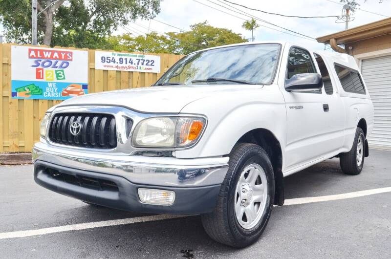 2002 Toyota Tacoma for sale at ALWAYSSOLD123 INC in Fort Lauderdale FL