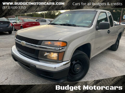 2005 Chevrolet Colorado for sale at Budget Motorcars in Tampa FL