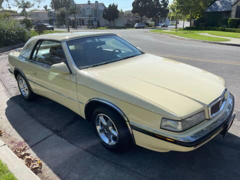 1990 Chrysler TC for sale at SoCal Motors in Los Alamitos CA