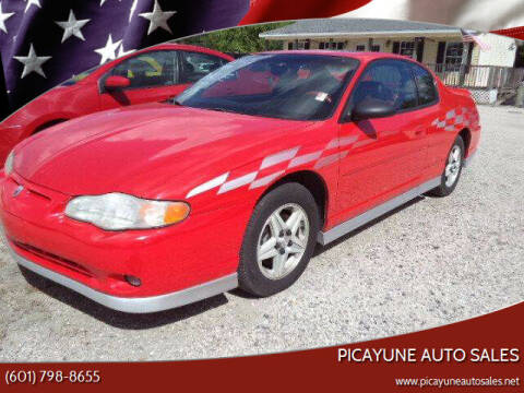 2000 Chevrolet Monte Carlo for sale at PICAYUNE AUTO SALES in Picayune MS
