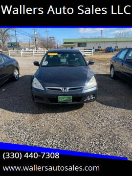 2006 Honda Accord for sale at Wallers Auto Sales LLC in Dover OH