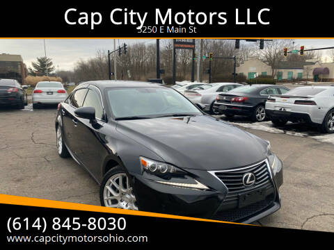 2014 Lexus IS 250 for sale at Cap City Motors LLC in Columbus OH