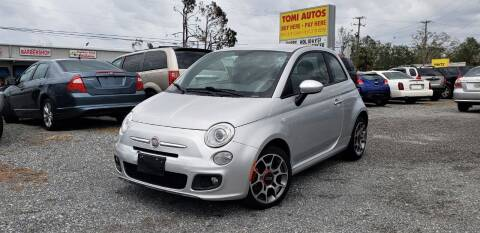 2012 FIAT 500 for sale at TOMI AUTOS, LLC in Panama City FL