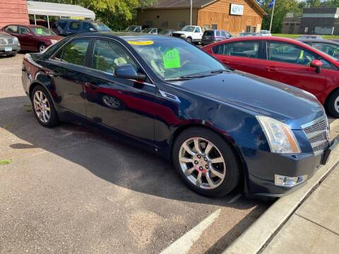 2008 Cadillac CTS for sale at Sunrise Auto Sales in Stacy MN
