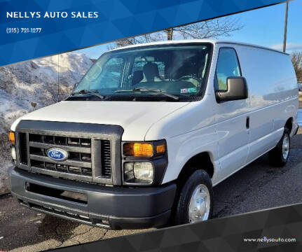 2014 Ford E-Series Cargo for sale at NELLYS AUTO SALES in Souderton PA