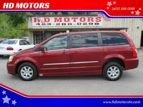 2012 Chrysler Town and Country for sale at HD MOTORS in Kingsport TN