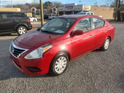 2017 Nissan Versa for sale at Wholesale Auto Inc in Athens TN