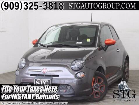 2016 FIAT 500e for sale at STG Auto Group in Montclair CA