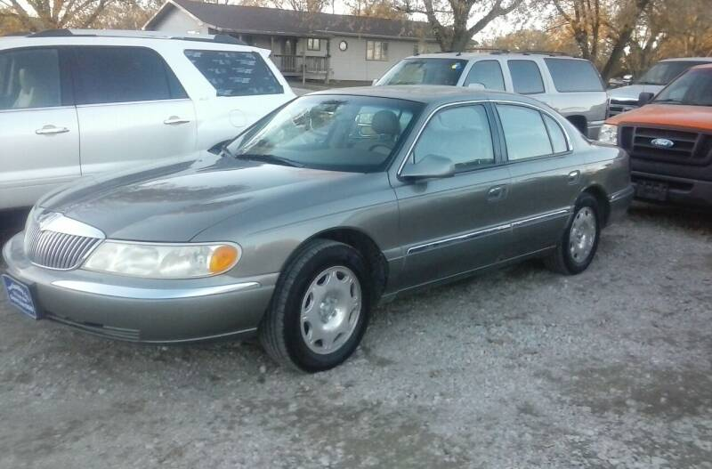 2000 Lincoln Continental for sale at BRETT SPAULDING SALES in Onawa IA