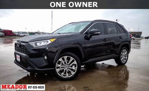 2019 Toyota RAV4 for sale at Meador Dodge Chrysler Jeep RAM in Fort Worth TX