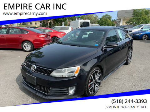 2013 Volkswagen Jetta for sale at EMPIRE CAR INC in Troy NY