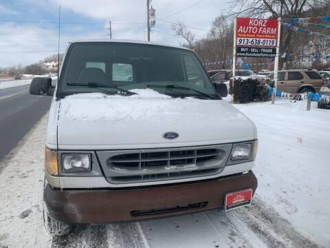 2000 Ford E-150 for sale at Korz Auto Farm in Kansas City KS