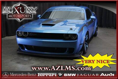 2019 Dodge Challenger for sale at Luxury Motorsports in Phoenix AZ