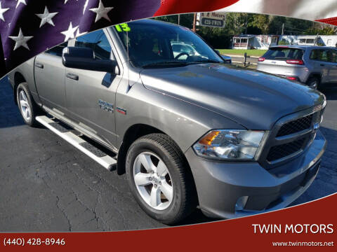 2013 RAM Ram Pickup 1500 for sale at TWIN MOTORS in Madison OH
