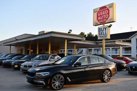 2017 BMW 5 Series for sale at Houston Used Auto Sales in Houston TX