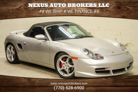 2000 Porsche Boxster for sale at Nexus Auto Brokers LLC in Marietta GA