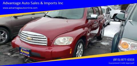 2006 Chevrolet HHR for sale at Advantage Auto Sales & Imports Inc in Loves Park IL