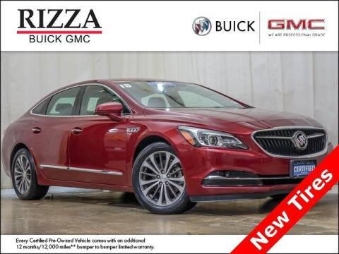 2018 Buick LaCrosse for sale at Rizza Buick GMC Cadillac in Tinley Park IL
