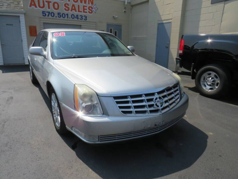 2008 Cadillac DTS for sale at Small Town Auto Sales in Hazleton PA