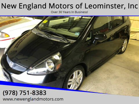 2007 Honda Fit for sale at New England Motors of Leominster, Inc in Leominster MA