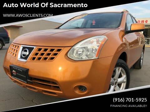 2008 Nissan Rogue for sale at Auto World of Sacramento Stockton Blvd in Sacramento CA