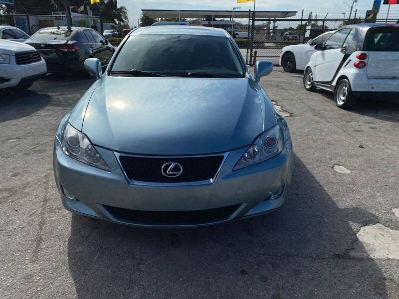 2008 Lexus IS 250 for sale at America Auto Wholesale Inc in Miami FL
