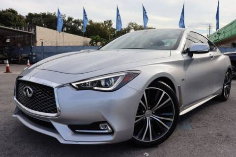 2018 Infiniti Q60 for sale at OCEAN AUTO SALES in Miami FL