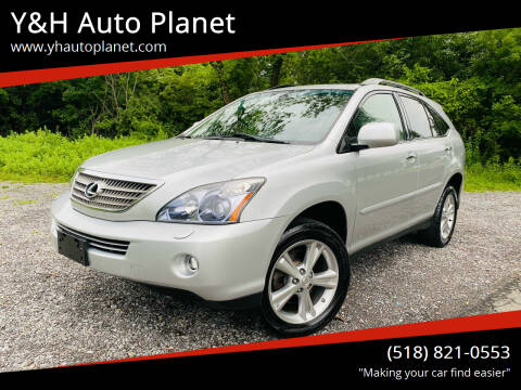 2008 Lexus RX 400h for sale at Y&H Auto Planet in West Sand Lake NY
